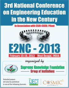 IJCST-Upcoming Conference - E2NC-2013